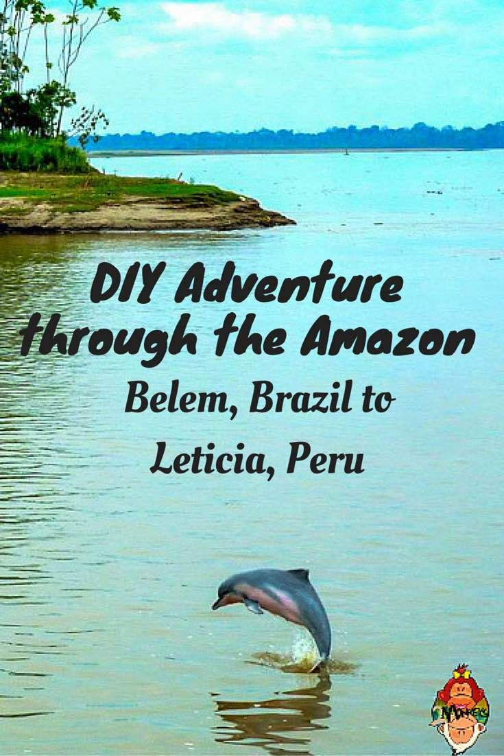 DIY Adventure through the Amazon- Belem, Brazil to Leticia, Peru. Here is my 3-week great adventure on the Amazon, South America that is full of surprises, adventures and nature that will justify that this is truly a once in a lifetime experience.