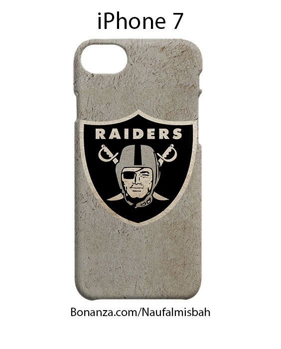 Oakland Raiders Custom iPhone 7 Case Cover