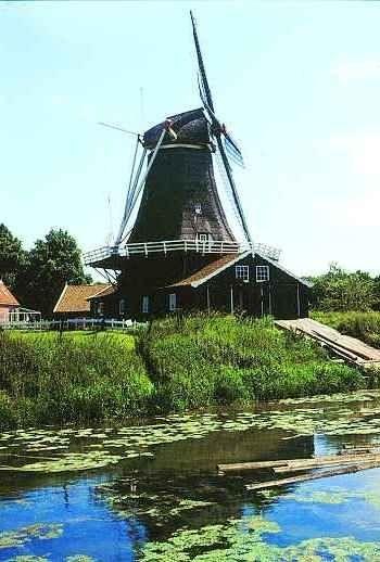 Bolwerksmolen Deventer - with water