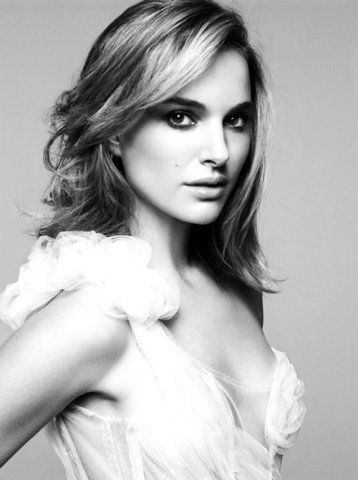 Natalie Portman, I love her as an actress, and she is such a beautiful human being inside and out.