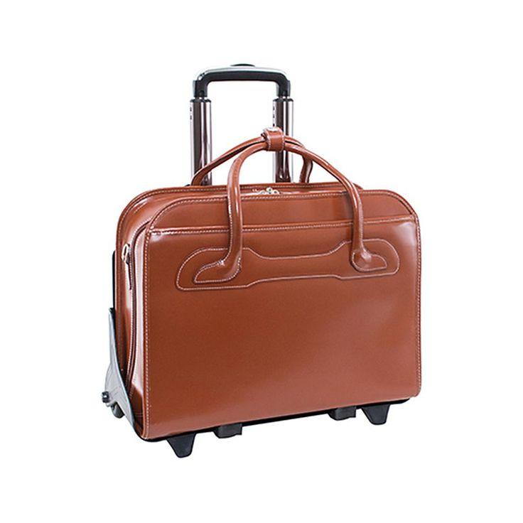 McKlein Willow Brook Laptop Briefcase - Green