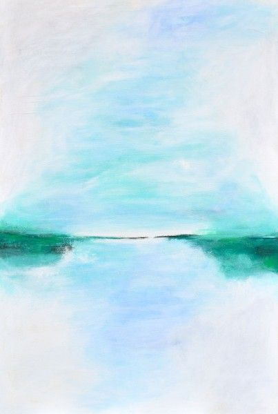 Amaneci enamorada del amor (I woke up in love with love) Acrylic on Canvas 47×40