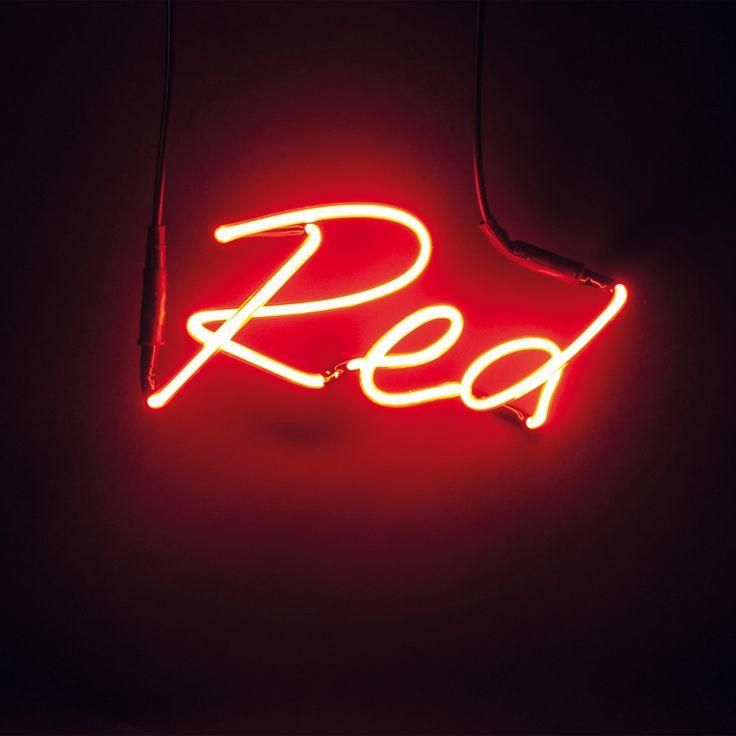 SHADES - Applique / Enseigne Néon Rouge