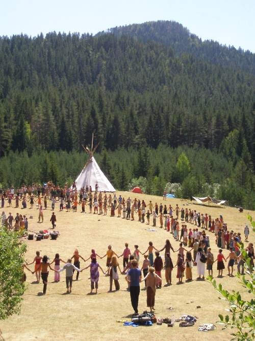 Rainbow Gathering - been... would love to go back