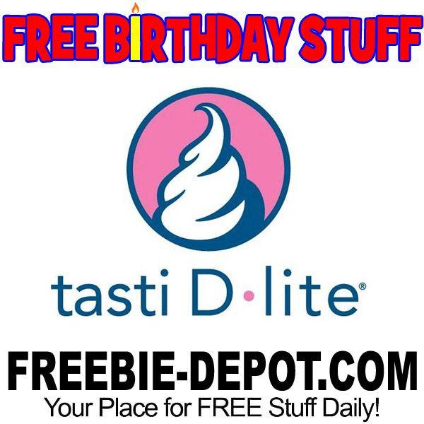 ►► BIRTHDAY FREEBIE - Tasti D-Lite ►► #BDay, #BirthdayFreebie, #FreeBirthdayStuff, #Froyo, #FrugalFind, #HappyBirthday, #IceCream ►►