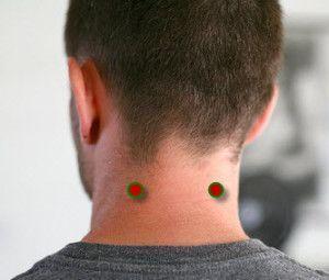 Este ponto está localizado na parte de trás da cabeça, a meio caminho entre o ouvido e coluna vertebral; entre os dois músculos que se unem. Aplicando pressão na Piscina vento ajuda a congestão nasal desbloqueio, aliviando a dor nos olhos, ouvidos, garganta, dores de cabeça e enxaquecas.