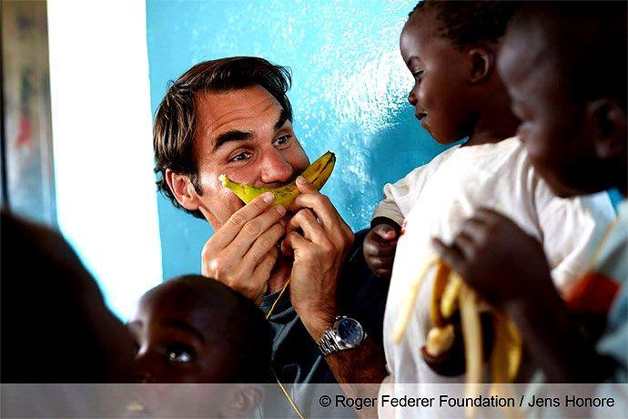 En imágenes: Roger Federer inaugura una escuela para niños en Malaui | EL PAIS