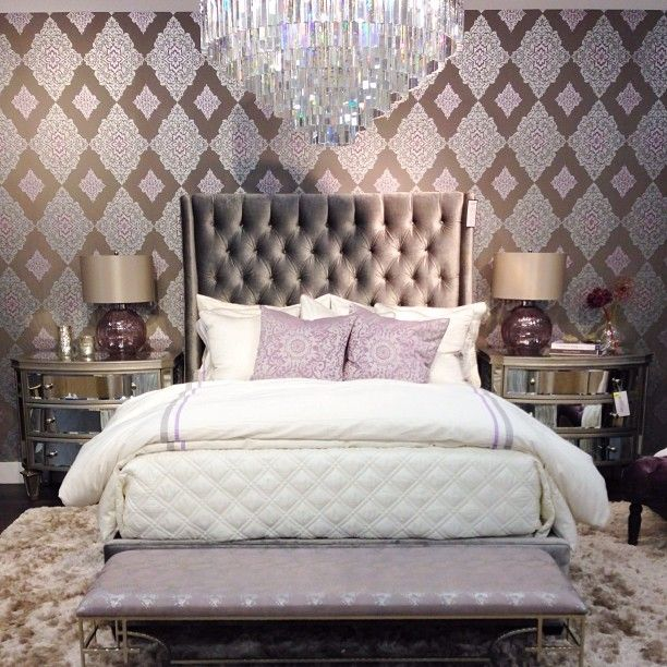 Glamorous Bedroom Ideas Decorating 3 Simple Decorating