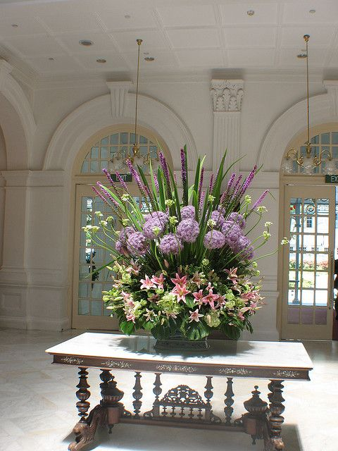 Hotel Foyer Flowers : Best hotel lobby flowers images on pinterest floral