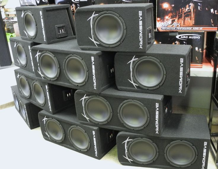 Want to make big bass but only have a little space? No sweat; we've got you covered with our exclusive Bassworx loaded subwoofer enclosures! If you've got a little more space & need a little more bass, then go for our dual setup with a pair of 8-inch subwoofers for a total of 300 watt RMS mounted in a slot-ported double box. And now, for those who need a sightly smaller option, we're excited to offer our brand new single setup consisting of one 8-in 150 watt RMS subwoofer in a smaller box.