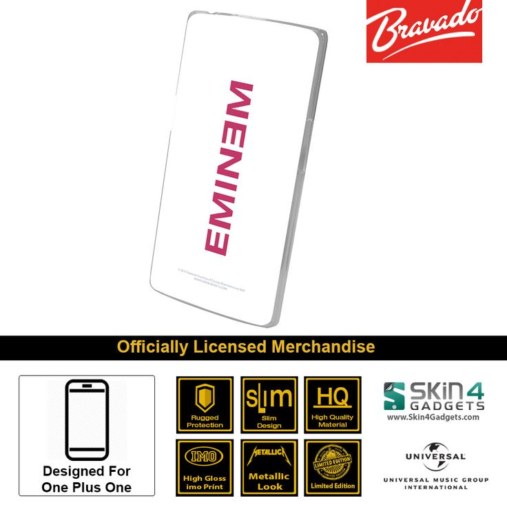 Buy Eminem Mobile Cover & Phone Case For One Plus One at lowest price online in India only at Skin4Gadgets. CASH ON DELIVERY AVAILABLE