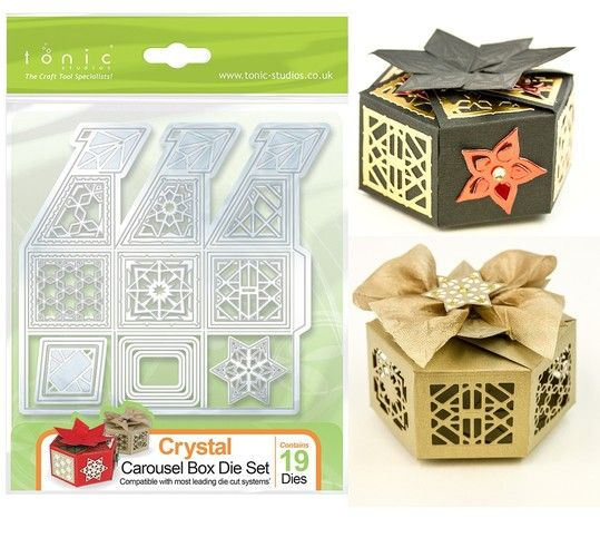 Favour Box / Carousel Box / Crafts / Tonic Dies | Memory Crafts