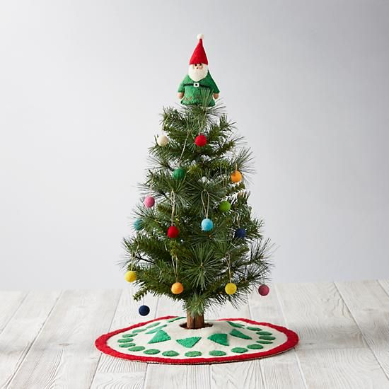 "Wee Christmas Tree Set: ""O Wee Christmas Tree, O Wee Christmas Tree, how tiny are your branches? ~ Actually - PerFect SiZe!"