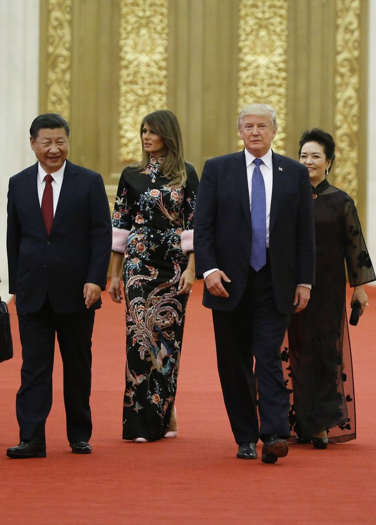 Peng Liyuan Photos Photos - \Trump Visits China - Zimbio