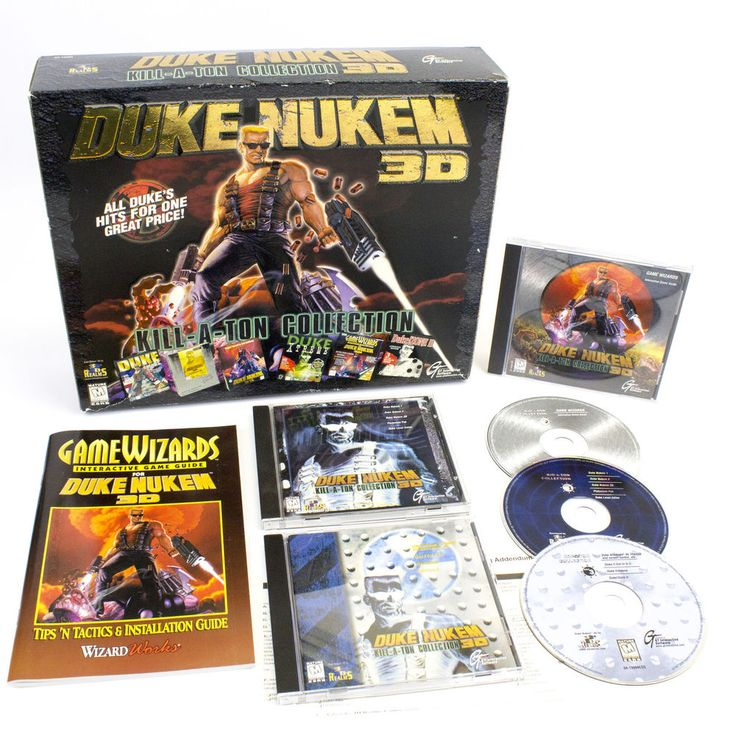 Duke Nukem 3D: Kill a Ton Collection for PC by 3D Realms, 1997, CIB