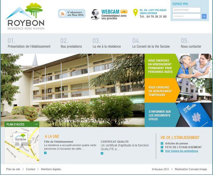 Vidéo-voeux de l'EHPAD de Roybon