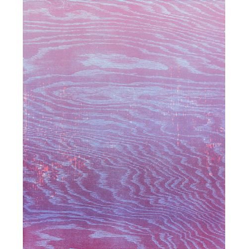 Pink Hour, Woodcut, 22in x 18in Created in collaboration with Maureen Moll