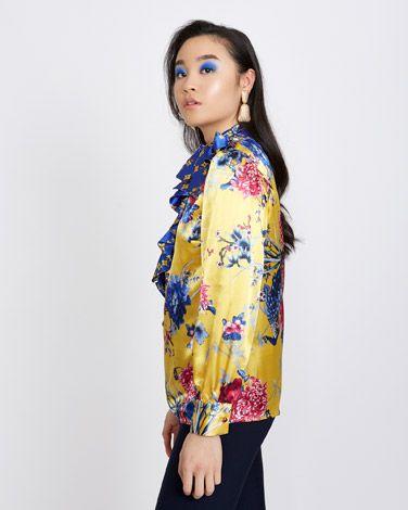 b8260e9e67416 Savida Oriental Print Blouse | Dunnes Stores | Fashion, Blouse ve ...