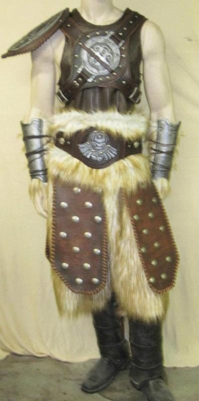 Skyrim Dovahkiin Costume #skyrim #dawnguard #hearthfire