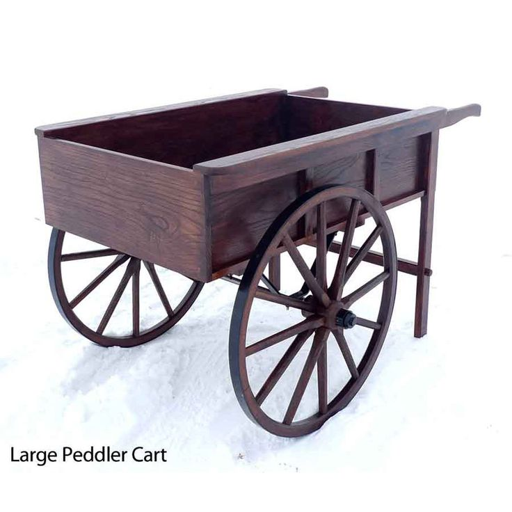 Wagon Cart Buffet ~ Amish made peddler s cart