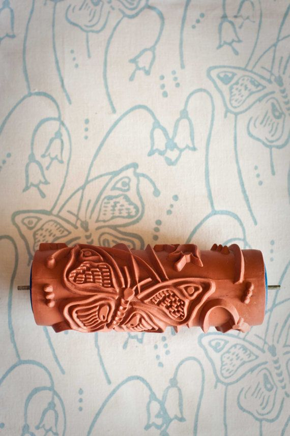 14 Patterned Paint Roller from The Painted House