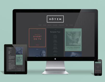 """다음 @Behance 프로젝트 확인: """"Sivert Høyem - Website and Visual Identity"""" https://www.behance.net/gallery/14118653/Sivert-Hoeyem-Website-and-Visual-Identity"""