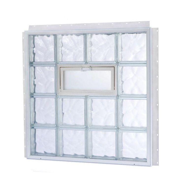 Best 25 glass block windows ideas on pinterest glass for Glass block window sizes