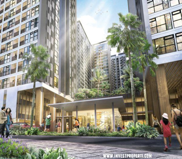 Komersial area Serpong Midtown Residence