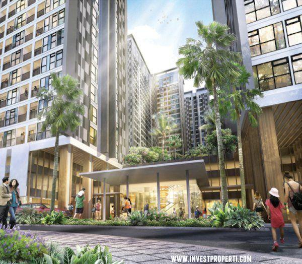 Komersial area Serpong Midtown Residence