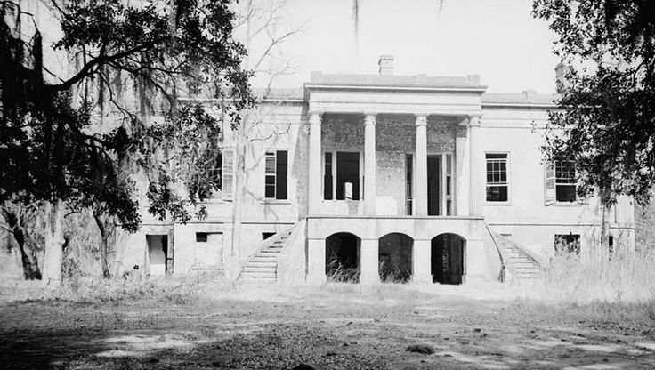The Hermitage, built circa 1820 in Chatham County,