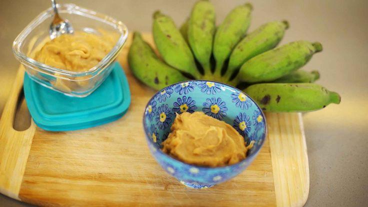 Biomassa de banana verde pode ser feita em casa e é super facil!