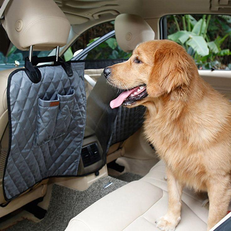 Nylon Mesh Backseat Pet Dog Car Barrier Vehicle Pet Barrier Front Seat Barrier New Style Dog Guard Pet Net Khaki/Gray/Black #Affiliate
