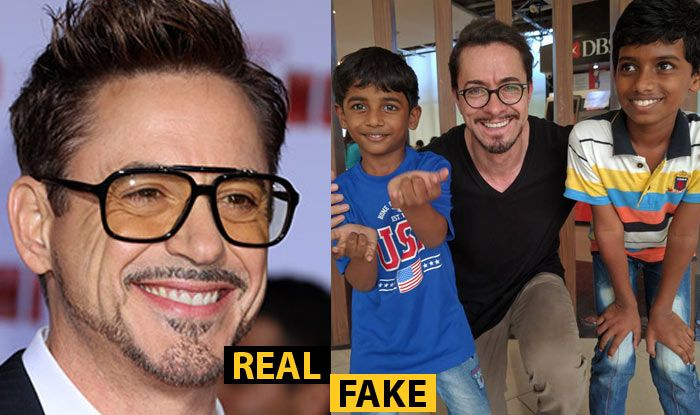 Robert Downey Jr. is not in India! Fake news