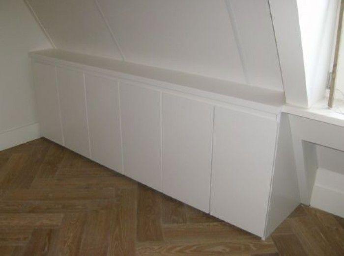 25 beste idee n over knieschotten op pinterest afgewerkte zolder zolderkamers en zolderopslag - Idee outs kamer bad onder het dak ...