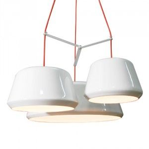 Tommy. Tommy hanglamp is een hanglamp met een eigentijds ontwerp, de kappen hebben verschillende doorsnedes. Deze lamp is onderdeel van de VTwonen collectie.   http://www.winjewanje.nl/hanglamp-tommy