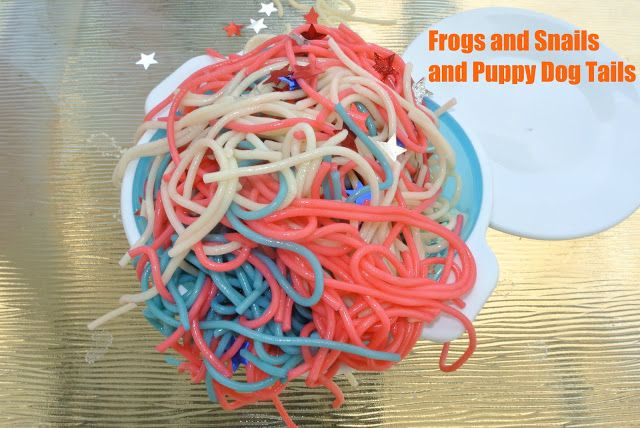 Will there ever be an occasion for colored noodles?