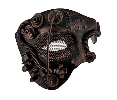 See our new post (Metallic Steampunk Phantom Half Face Masquerade Mask) which has been published on (Explore the World of Steampunk) Post Link (http://steampunkvapemod.com/product/metallic-steampunk-phantom-half-face-masquerade-mask/)  Please Like Us and follow us on Facebook @ https://www.facebook.com/steampunkcostume/