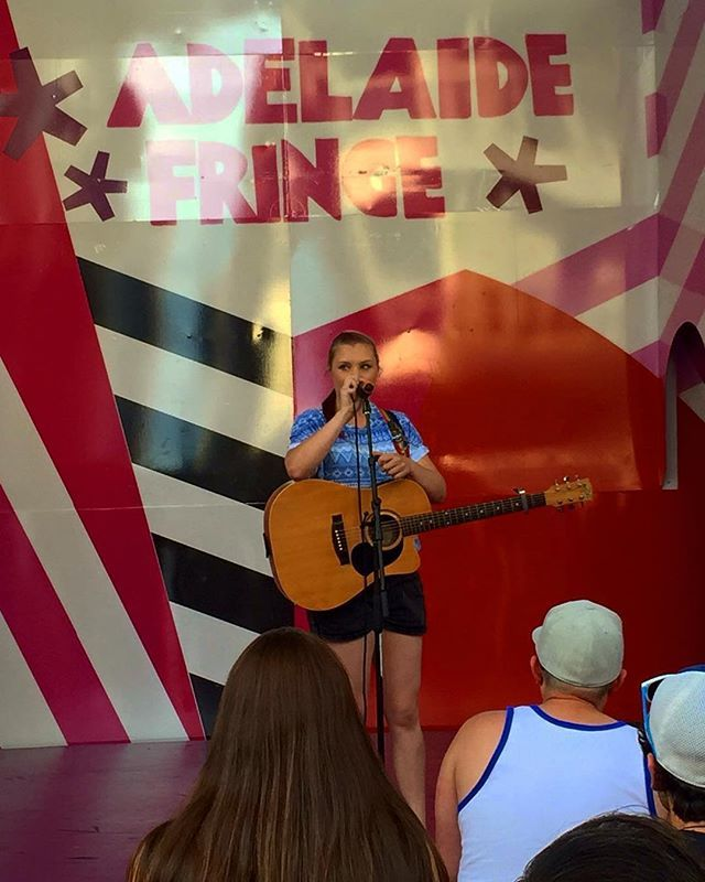 Today I was the last performer for UNFOLD Fringe in the Mall for this year, which means it's almost time to start preparing for the post Fringe blues*.  *Come to my show first.  https://www.facebook.com/events/1660012224248841/  #adlfringe #adelaide #music #livemusic #livemusicsa #singersongwriter #goodtimes