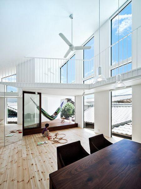 家の中に小屋、ハンモック、ボルダリング、屋根裏部屋…インスピレーションが涌く家づくり | スミカマガジン | SuMiKa