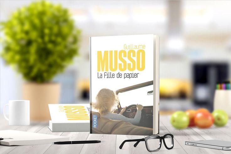 La fille de papierde Guillaume Musso:Quand la vie ne tient plus qu'à un livre !« Trempée jusqu'aux os et totalement nue, elle est apparue sur ma terrasse au beau milieu