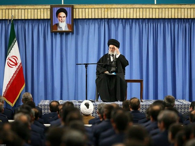 """Iran's supreme leader says U.S. President Trump's """"cheap, ugly, foolish and unreal"""" remarks at the UN are a sign of desperation."""