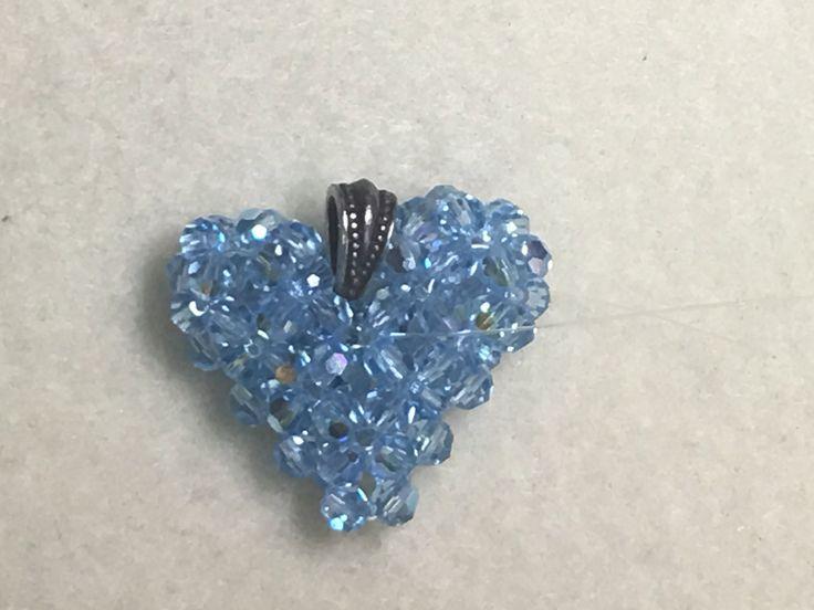 MODIFIED ** Swarovski crystal puffed heart 2016 update**
