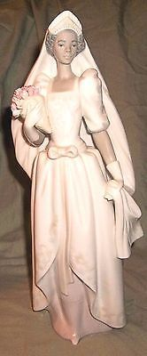 Vintage Lladro Figurine Black Legacy Collection The Black Bride #5439 Retired &