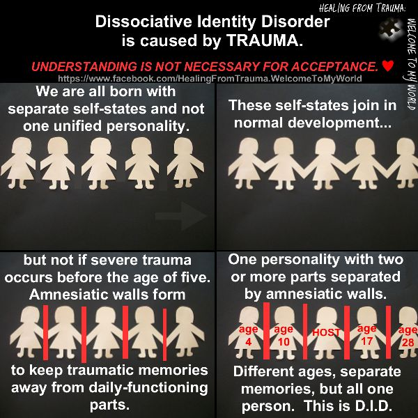 an introduction to the dissociative identity disorder Dissociative identity disorder (did) signs and symptoms are varied complete list of did symptoms and signs and how they affect a person with did.