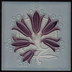 Herent Art Nouveau tile