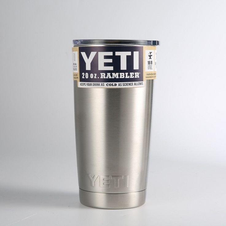 30oz 20oz Rambler Tumbler YETI Cooler Cup Vacuum Insulated Stainless Steel Tumbler Mug Cup for Drop Ship
