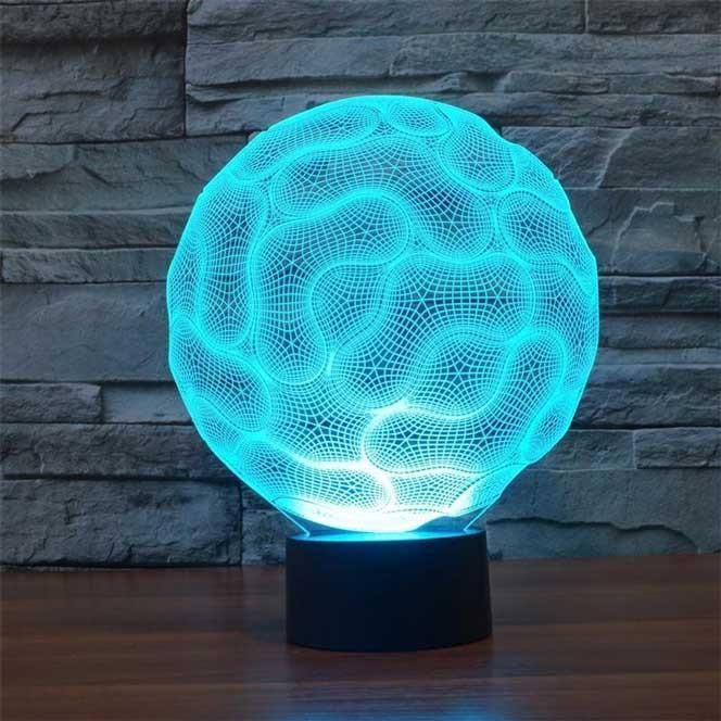 Brain 3d Illusion Led Lamp 3d Illusion Lamp 3d Led Night Light 3d Illusions