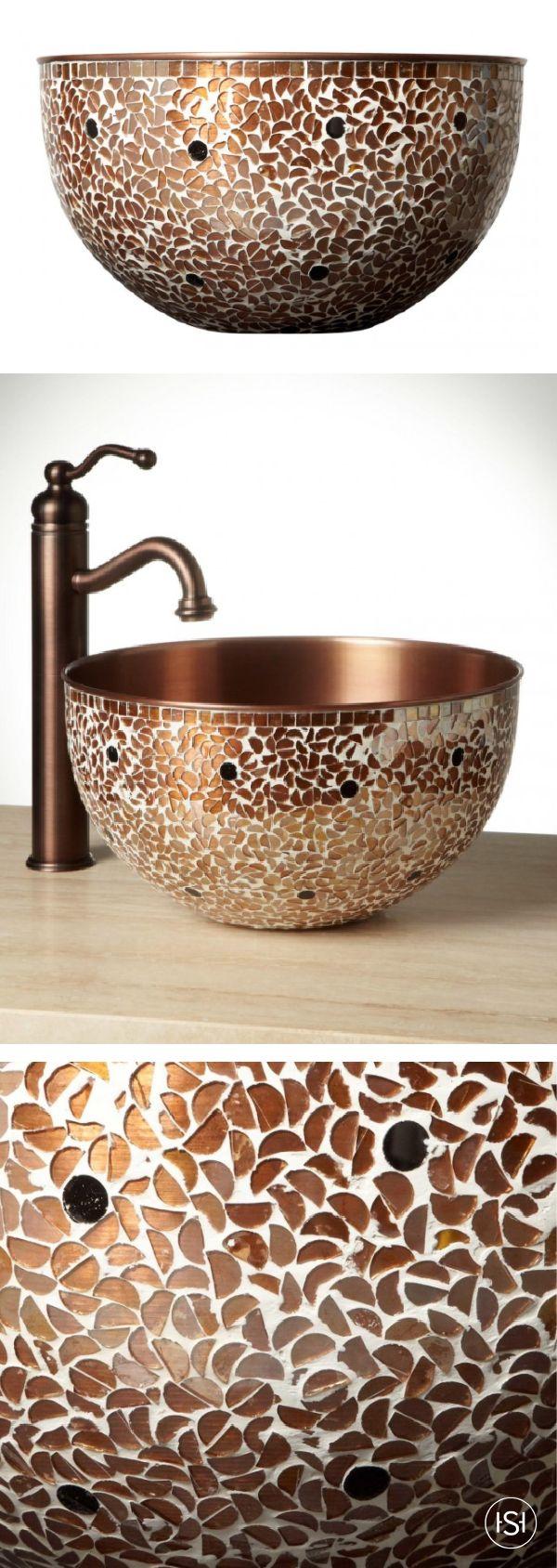 Copper Vessel Sinks Ideas Oncopper Bathroom