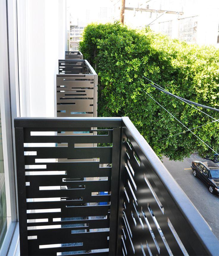 juliette balconies, juliet balcony, balconet, balconette, laser cut metal, bokmodern, bok modern