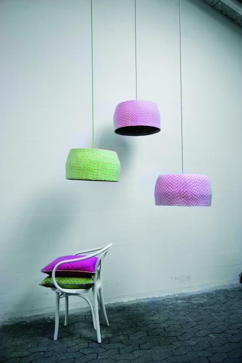 papier mache lamps